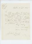 1865-09-09  Edwin Schroum requests the bounty owed him