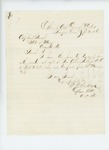 1865-09-20  Captain W. R. P. sends muster-out roll of Private A. Robbins
