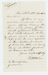 1866-09-20  Request for information on time and place of death of David Roney