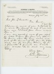 1865-07-26  Charles Gilmore writes Adjutant General Hodsdon requesting the 1864 annual report