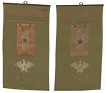 Roscoe M. Chase's Family's Homemade Marines Corps. Banner