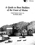 A Guide to Boat Builders of the Coast of Maine