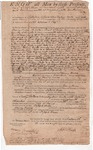 Land deed from Joseph Huse to Henry Knox, November 16, 1799