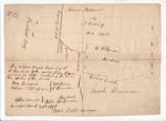 Plan of roads near Spring Brook in Camden, May 1808