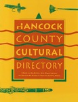 Hancock County Cultural Directory by Maine Arts Commission