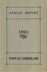 Town of Cumberland, Maine, Annual Report 1921