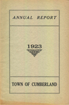 Town of Cumberland, Maine, Annual Report 1923
