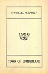Town of Cumberland, Maine, Annual Report 1926