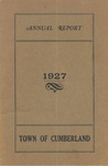 Town of Cumberland, Maine, Annual Report 1927