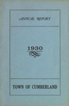 Town of Cumberland, Maine, Annual Report 1930