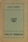 Town of Cumberland, Maine, Annual Report 1932