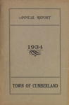 Town of Cumberland, Maine, Annual Report 1934
