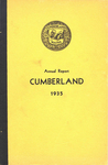Town of Cumberland, Maine, Annual Report 1935