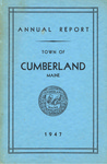 Town of Cumberland, Maine, Annual Report 1947