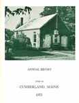 Town of Cumberland, Maine, Annual Report 1973
