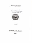 Town of Cumberland, Maine, Annual Report 1978