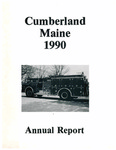Town of Cumberland, Maine, Annual Report 1990 by Cumberland (Me.)