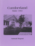 Town of Cumberland, Maine, Annual Report 1993 by Cumberland (Me.)