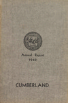 Town of Cumberland, Maine, Annual Report 1940