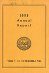 Town of Cumberland, Maine, Annual Report 1958