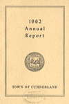 Town of Cumberland, Maine, Annual Report 1962