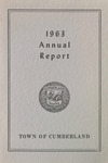 Town of Cumberland, Maine, Annual Report 1963