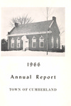 Town of Cumberland, Maine, Annual Report 1966