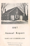 Town of Cumberland, Maine, Annual Report 1967