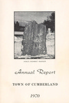Town of Cumberland, Maine, Annual Report 1970