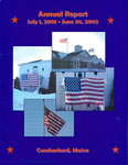 Town of Cumberland, Maine, Annual Report FY2001–02 by Cumberland (Me.)
