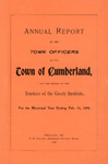 Town of Cumberland, Maine, Annual Report 1898