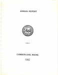 Town of Cumberland, Maine, Annual Report 1982