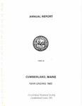 Town of Cumberland, Maine, Annual Report 1983