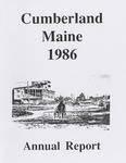Town of Cumberland, Maine, Annual Report 1986