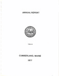 Town of Cumberland, Maine, Annual Report 1977