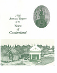 Town of Cumberland, Maine, Annual Report 1998 by Cumberland (Me.)