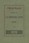 Town of Cumberland, Maine, Annual Report 1912