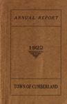 Town of Cumberland, Maine, Annual Report 1922