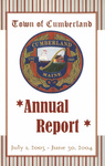 Town of Cumberland, Maine, Annual Report FY2003-04