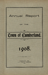 Town of Cumberland, Maine, Annual Report 1908