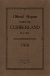 Town of Cumberland, Maine, Annual Report 1910