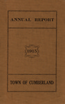 Town of Cumberland, Maine, Annual Report 1915