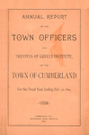 Town of Cumberland, Maine, Annual Report 1891