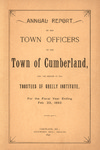 Town of Cumberland, Maine, Annual Report 1892