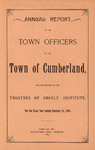 Town of Cumberland, Maine, Annual Report 1893