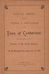 Town of Cumberland, Maine, Annual Report 1896