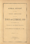 Town of Cumberland, Maine, Annual Report 1897