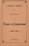 Town of Cumberland, Maine, Annual Report 1900