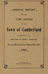 Town of Cumberland, Maine, Annual Report 1901