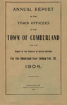 Town of Cumberland, Maine, Annual Report 1904